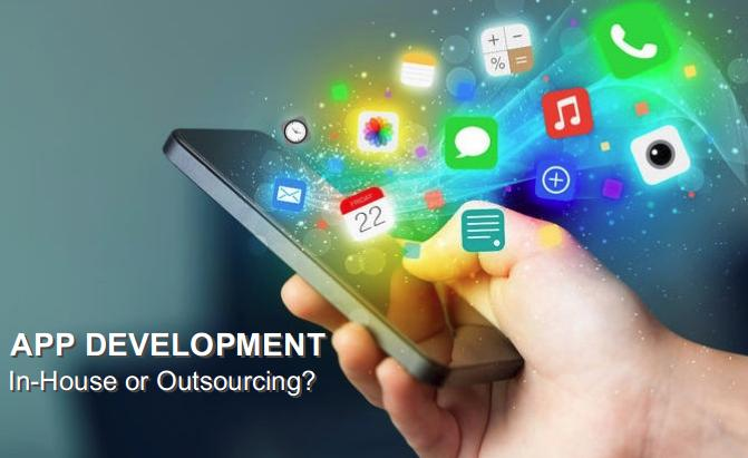 app development in house or outsource