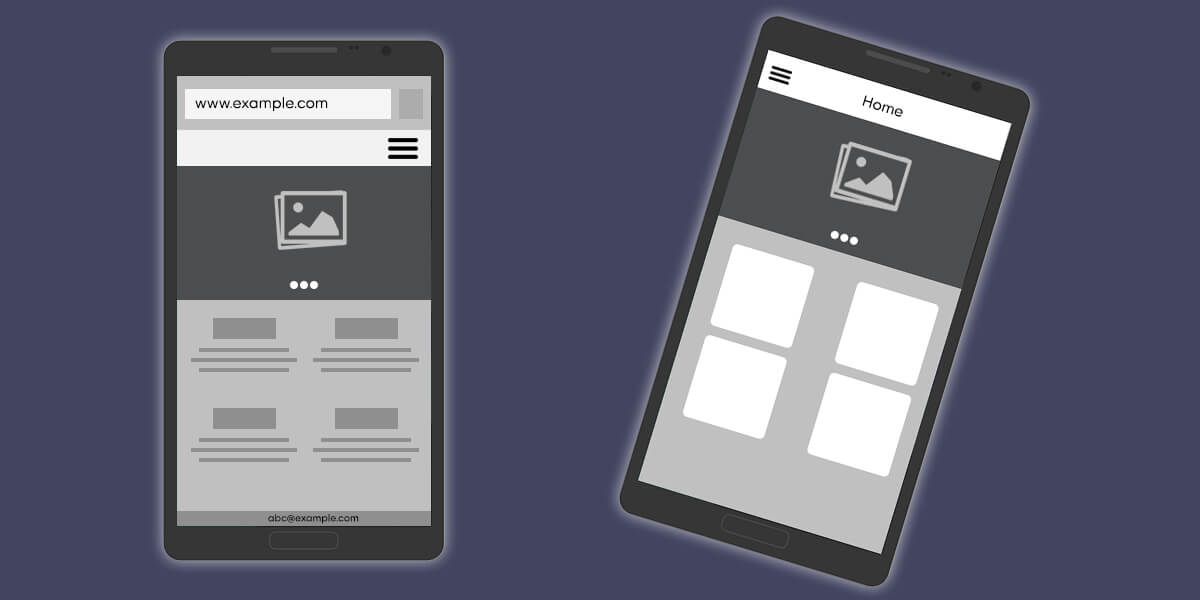 mobile website and mobile apps