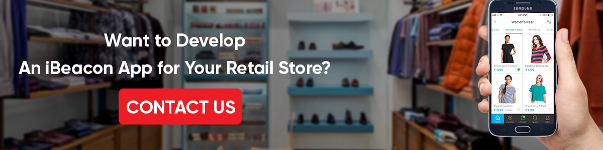 Ibeacon app development for retail store