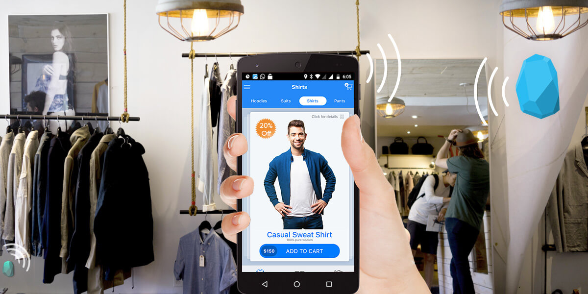 ibeacon retail industy