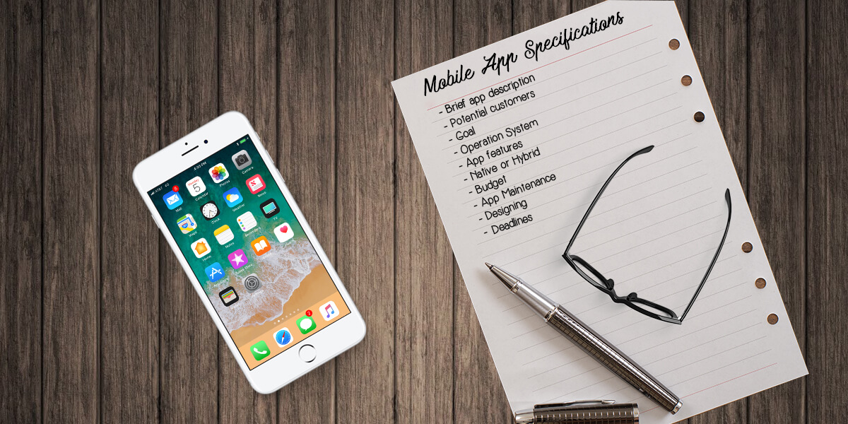 mobile app specification