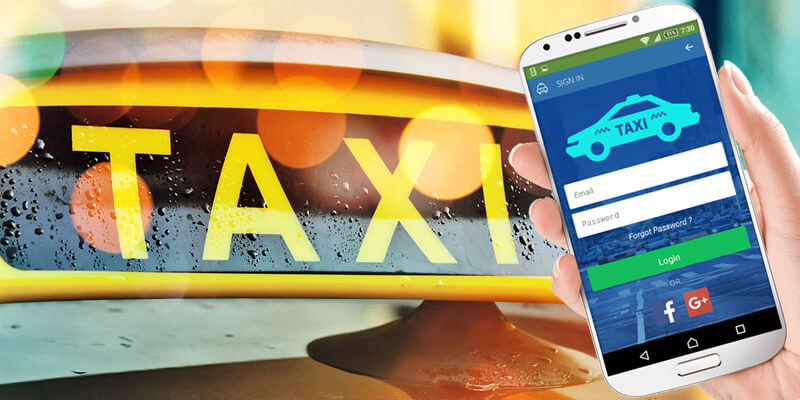 taxi booking login