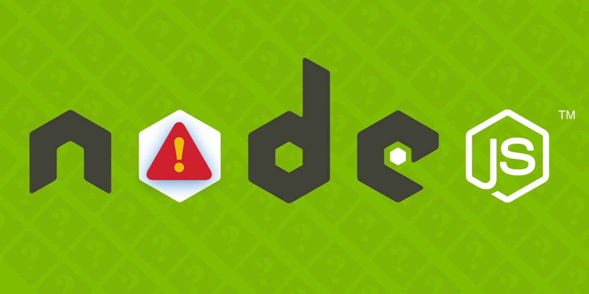 Major Node.JS Pitfalls Committed by the Developers