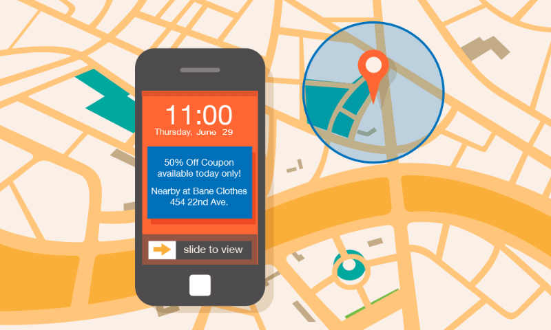 geofencing offer