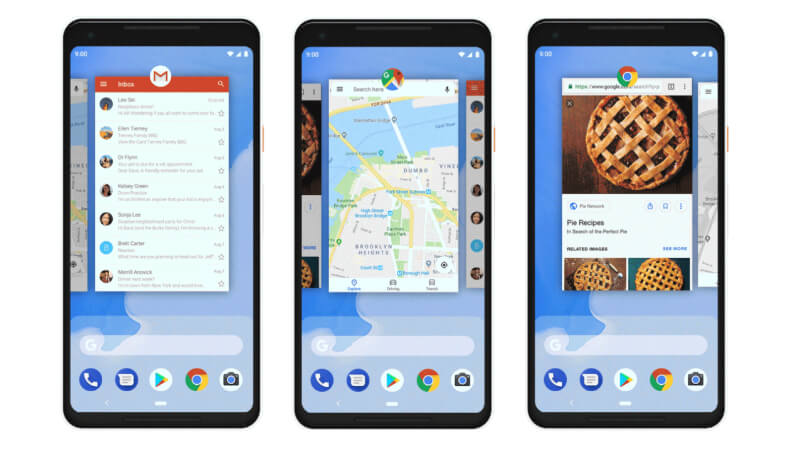 android pie navigation