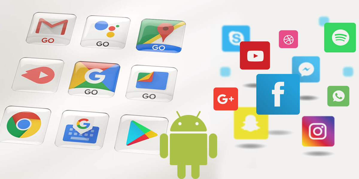 android go appd vs regular apps