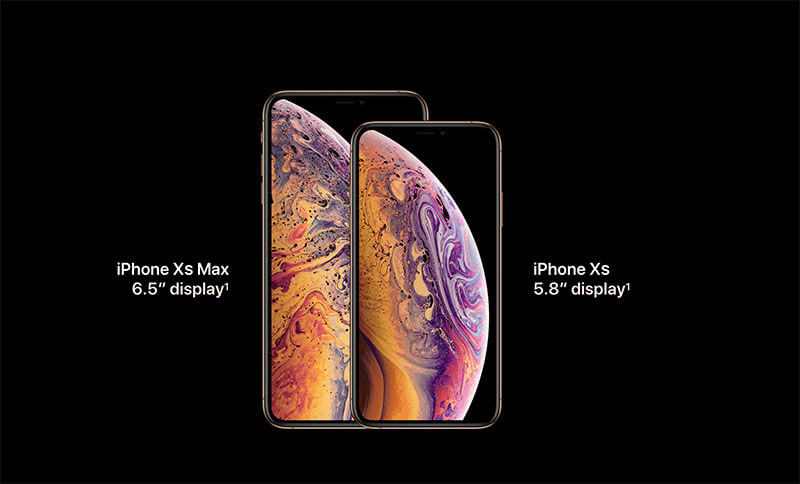 iPhoneXS and iPhoneXS Max