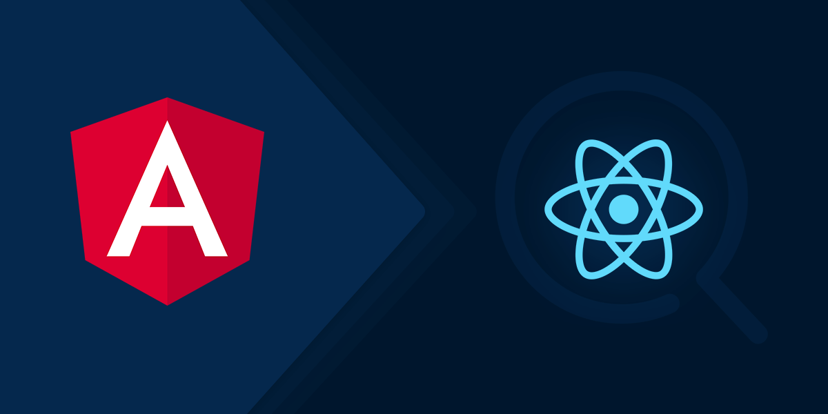 angular or react