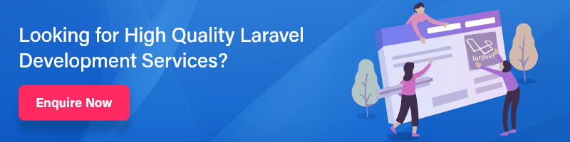 laravel development banner