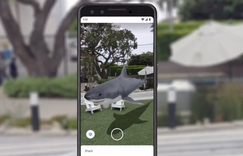 AR feature