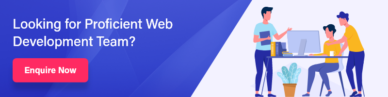 web development team banner