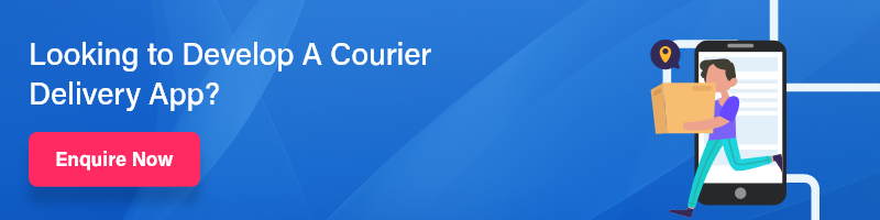 courier delivery app banner