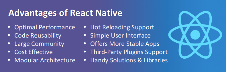 Advantages React Native