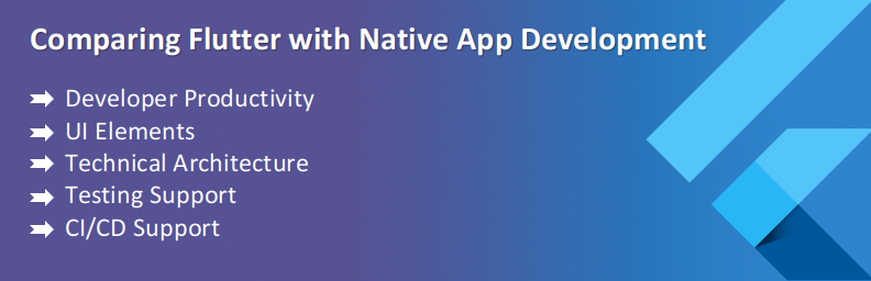 flutter vs native app development