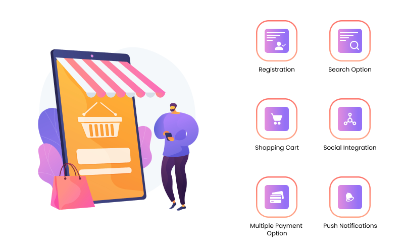 Marketplace app features